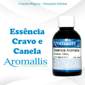 Essencia Cravo e Canela 100 ml
